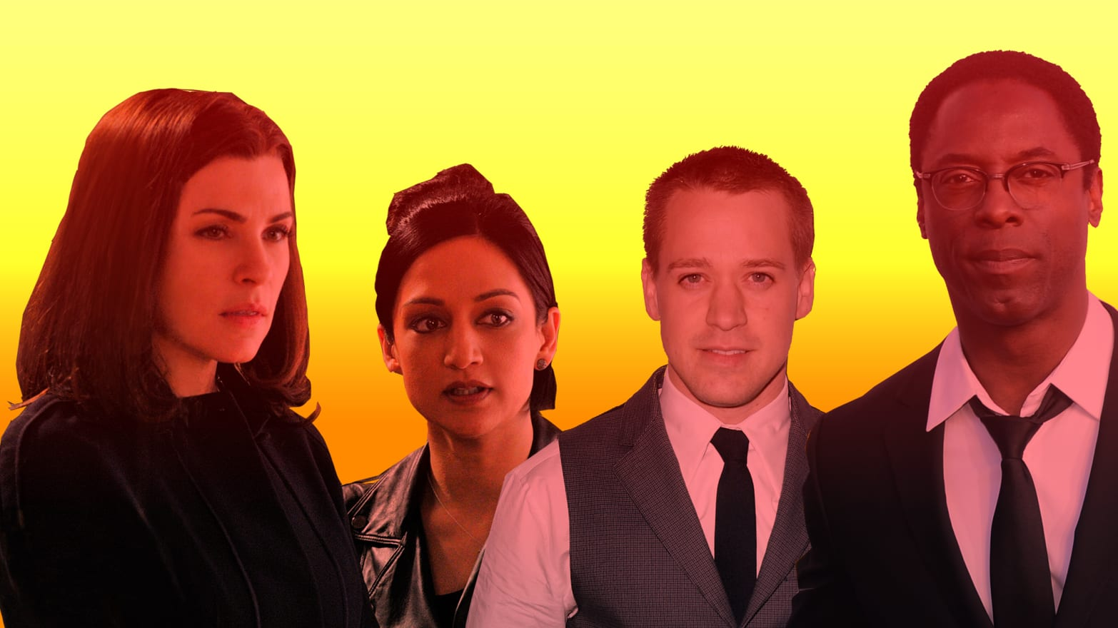 Tvs Most Notorious Real Life Feuds The Good Wife 90210