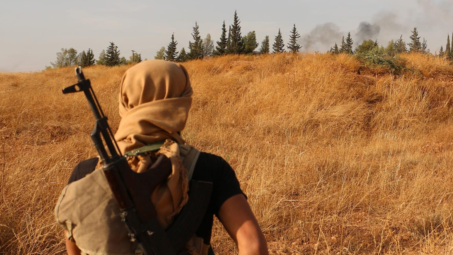 CIA-Armed Rebels March On Assad Homeland