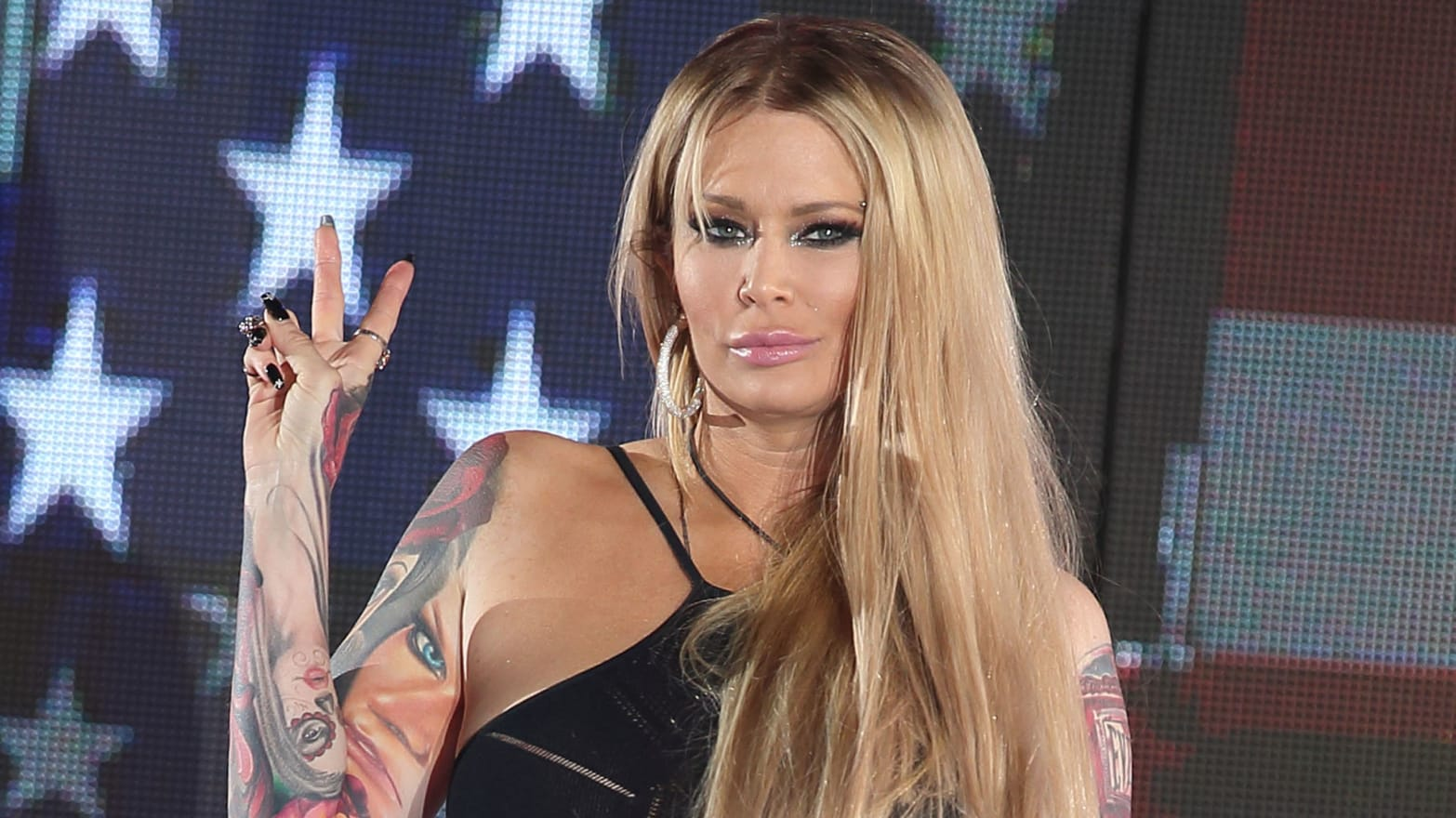 Barack Obama Porn queen of porn' jenna jameson defends israel, bashes obama