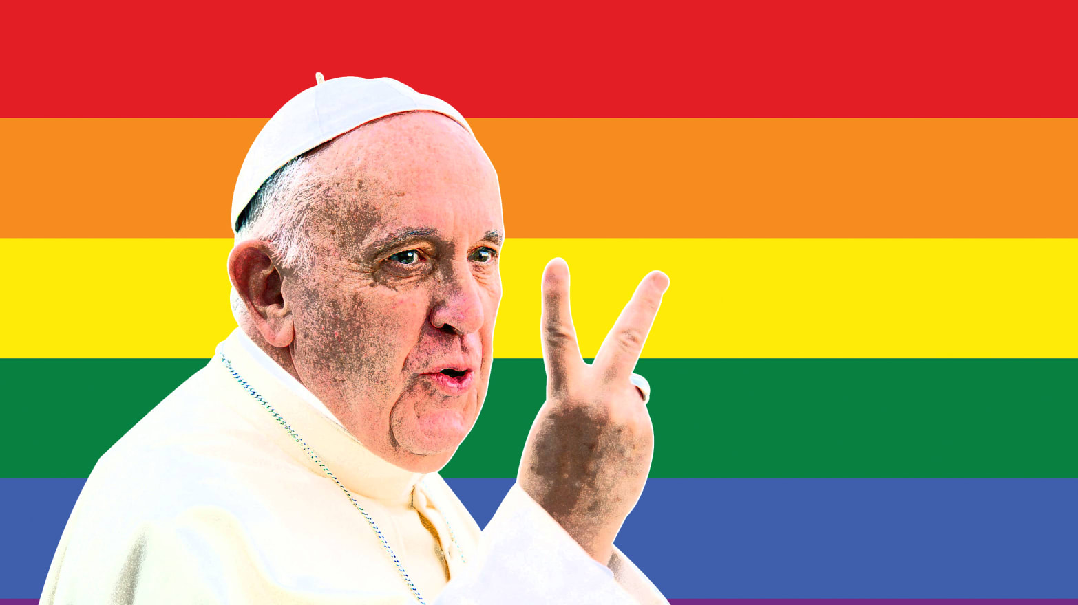 Pope Francis Blesses a Lesbian, Her Family, and Her Writing For Kids