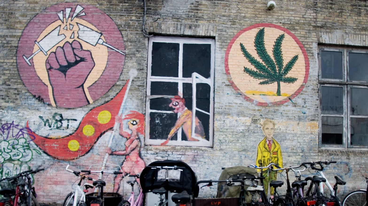 How Denmark's Hippies Fought For Their Druggy Paradise