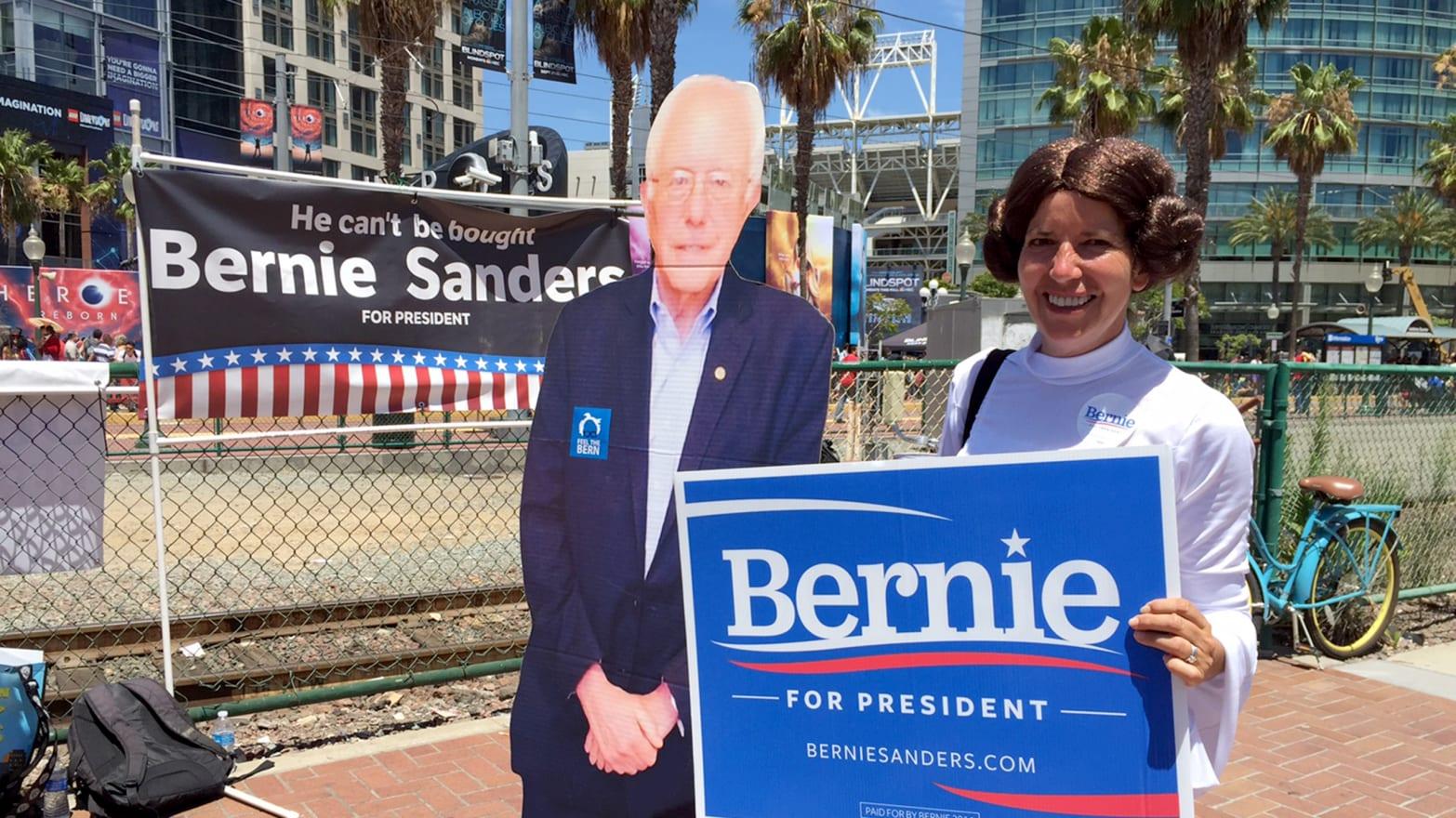 Bernie Sanders 2020 8ft Banner Sign
