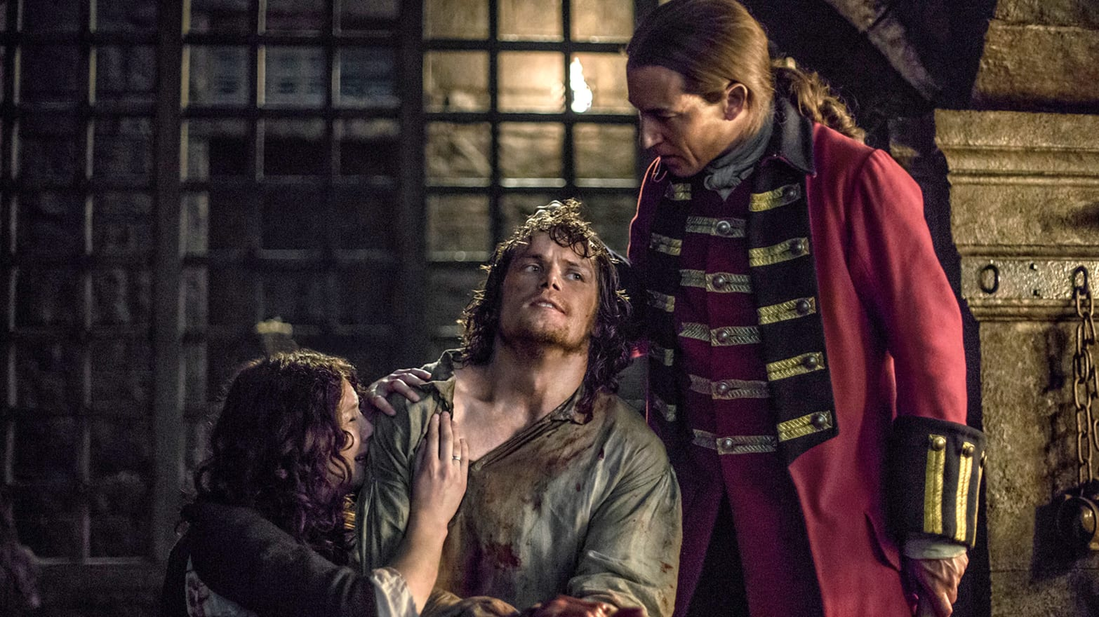 Outlanders Male Rape Survivor Sam Heughan On Jamies