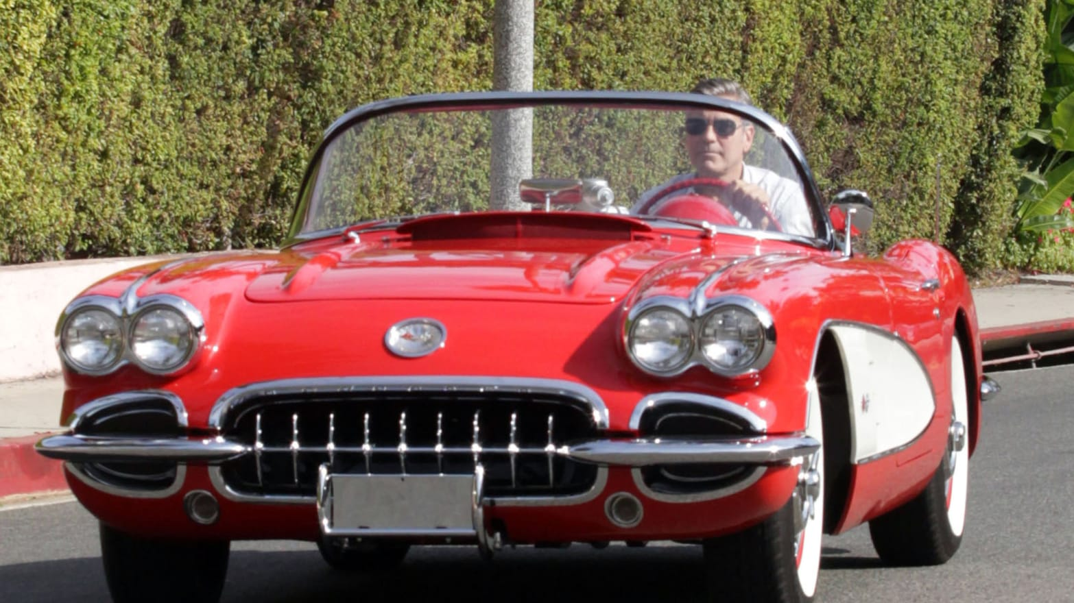 Celebs In Classic Cars