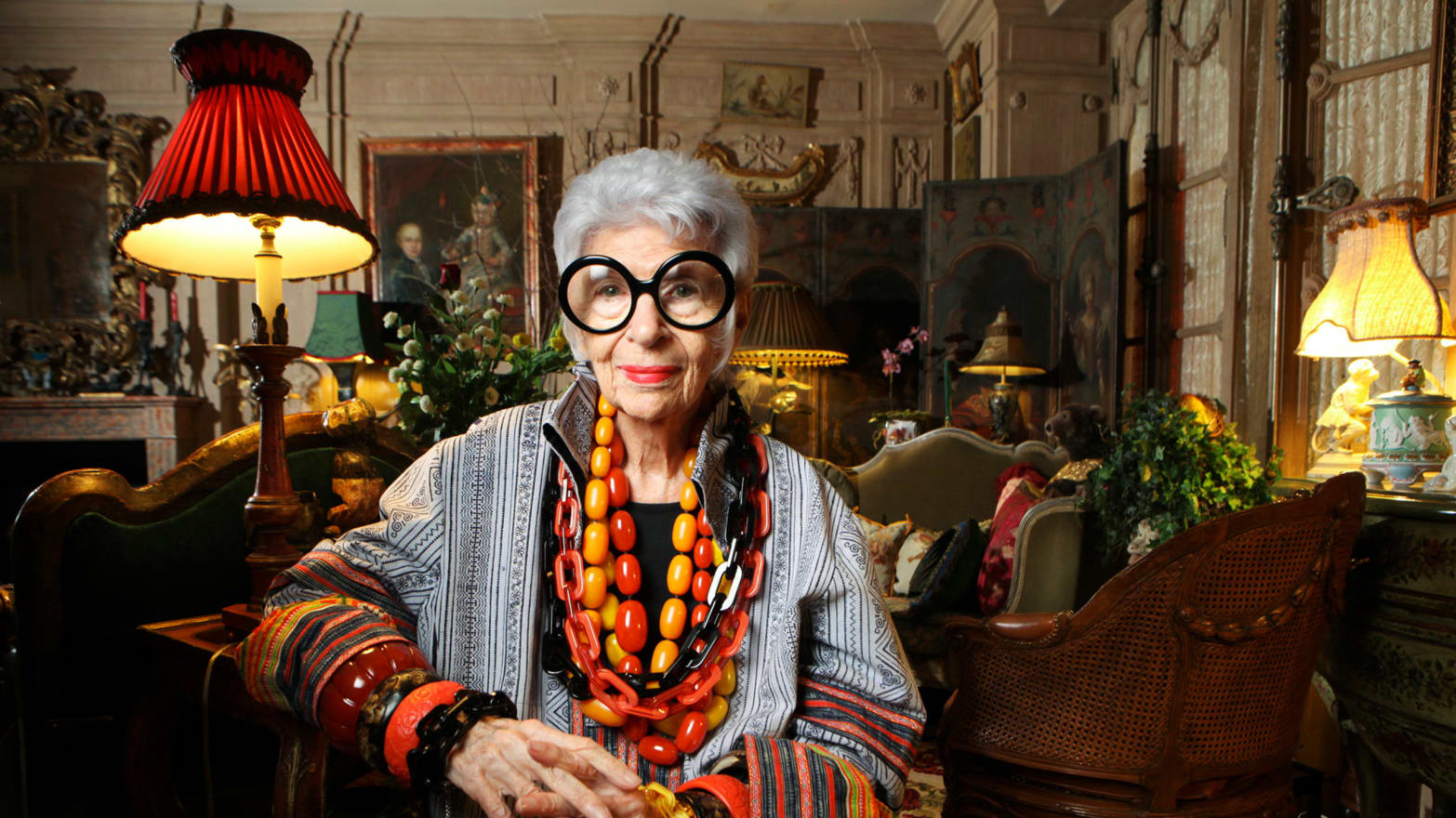 a94e9fbe6de The Fabulous Life of Iris Apfel  A Fashion Icon s Late-in-Life Fame