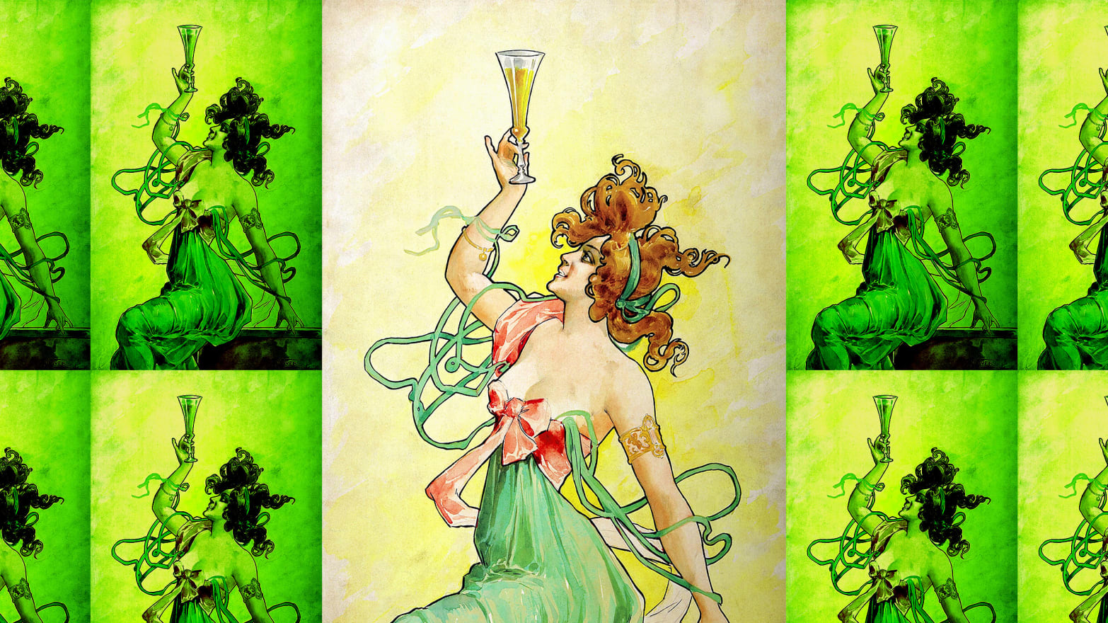 Absinthe Is Back The Green Fairy Returns