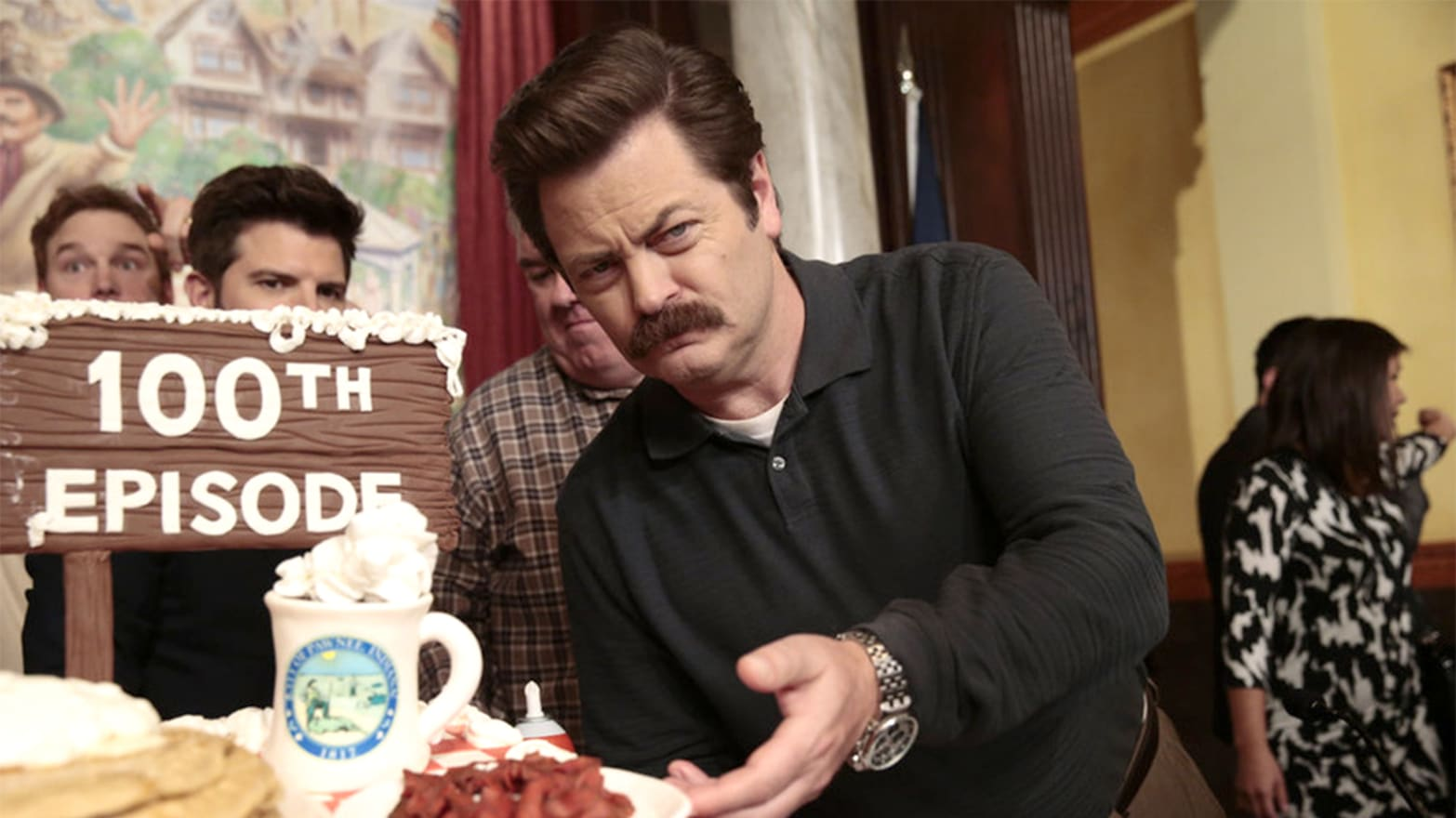 How 'Parks and Rec's' Ron Swanson Became the Unlikely Libertarian Hero of the Obama Era