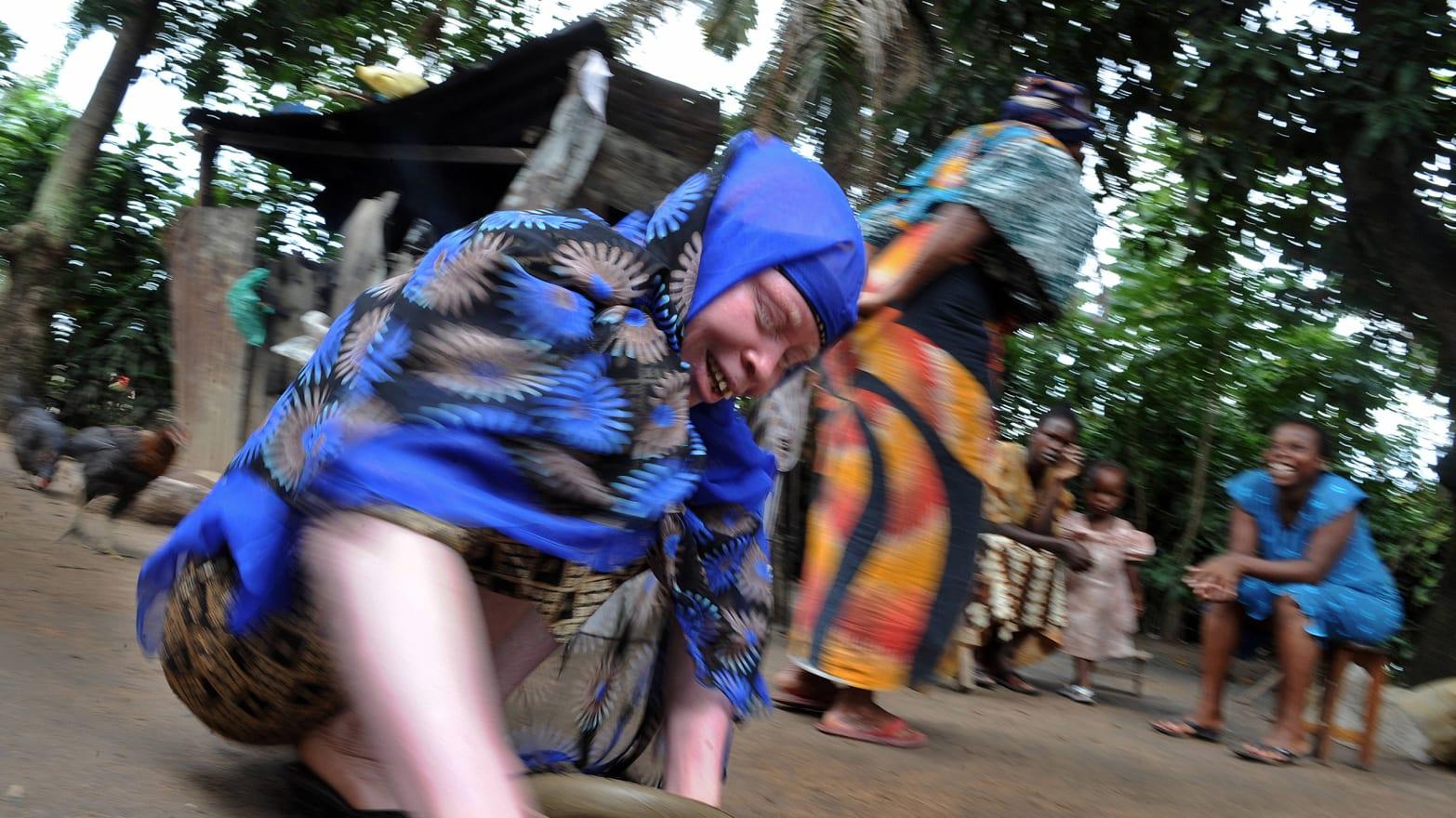 Africa's 'Albino Island'