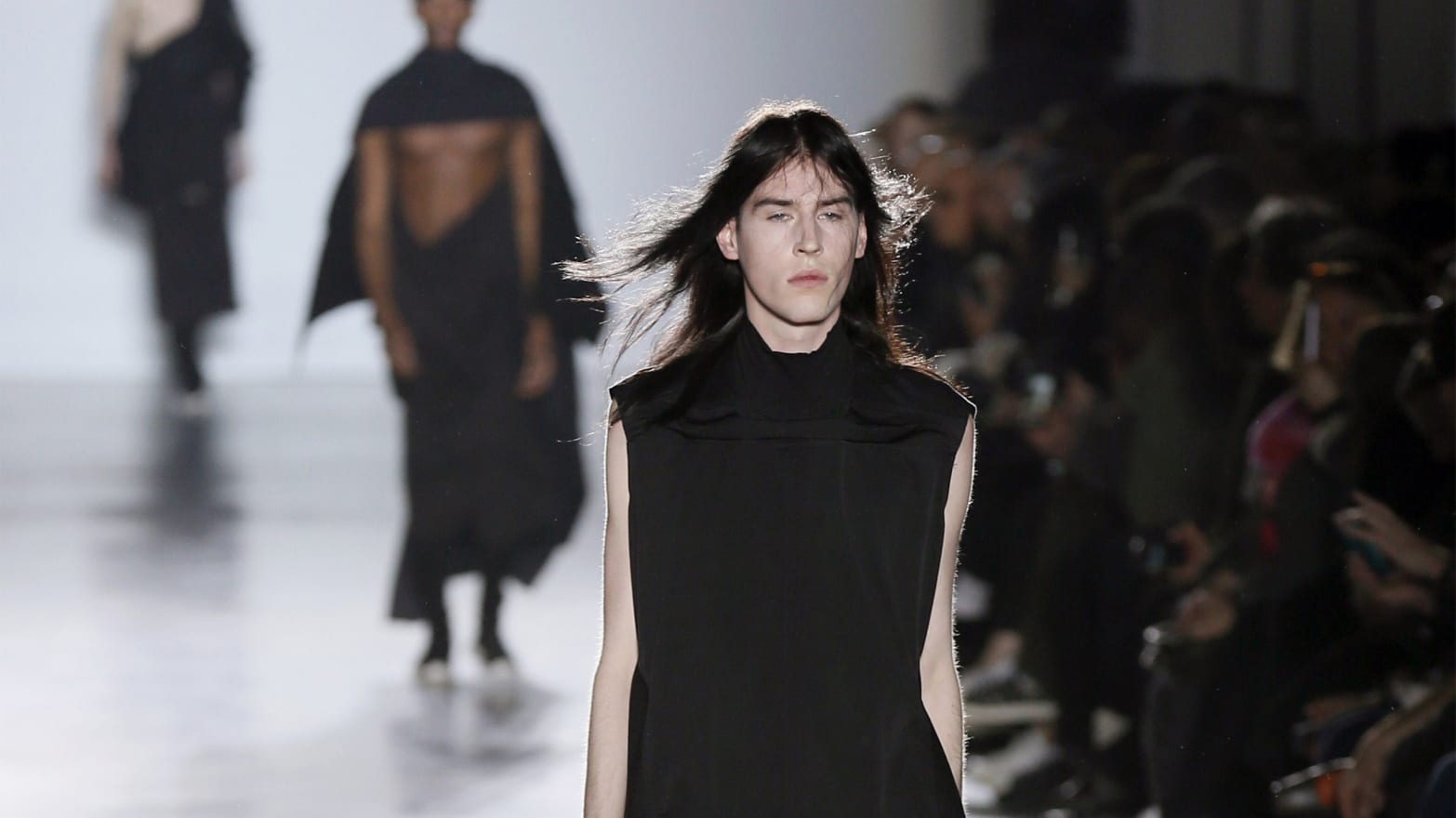 The Penis Comes Out on the Parisian Catwalk