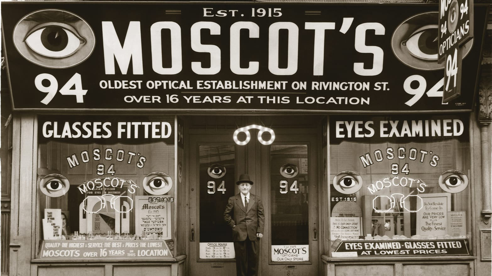 e2437d1fd4 Moscot, A New York Legend, Turns 100