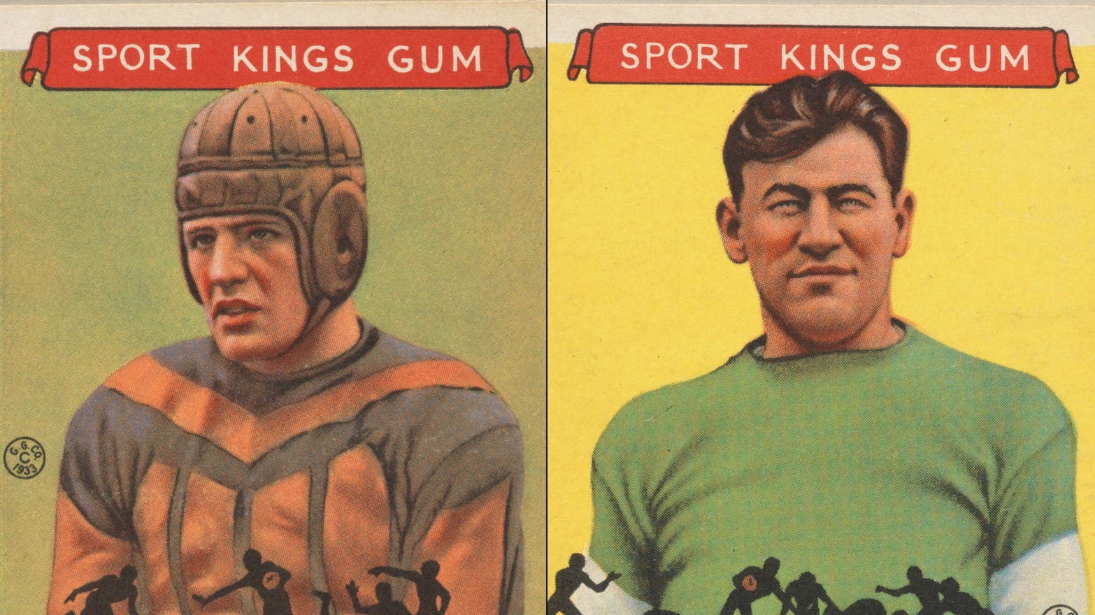 The Art of Football Trading Cards