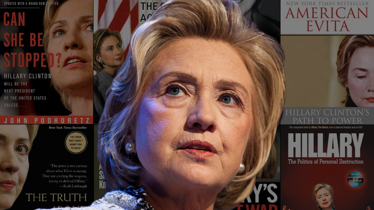 The Hillary-Haters' Book Club Will Never Run Out of Things