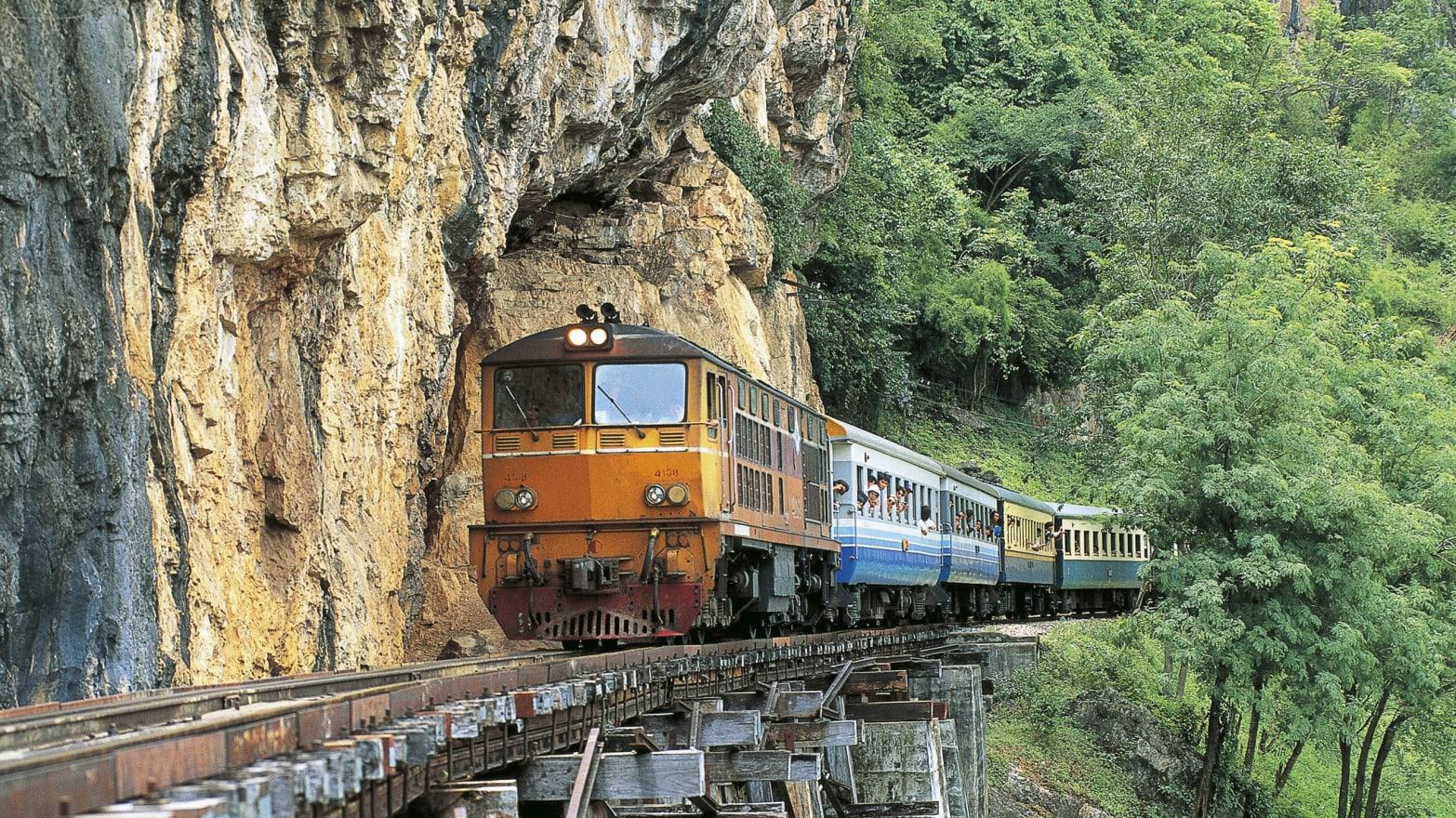 Riding Thailand's WWII Death Railway