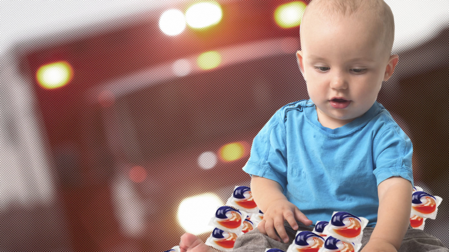 Kids Eat The Darndest Things Laundry Pods Teething