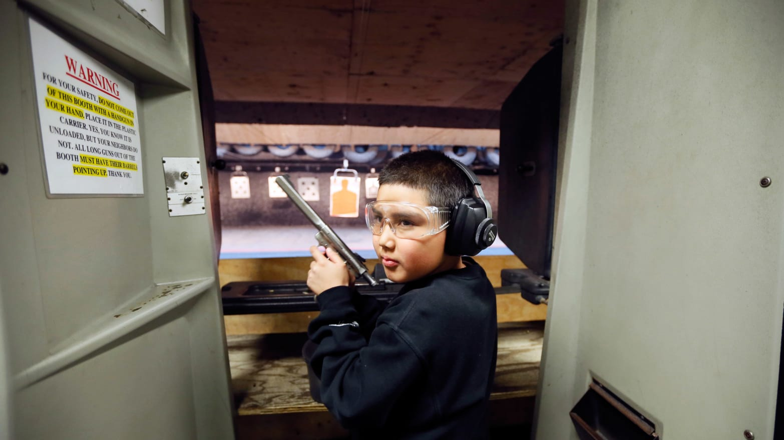 Where Kids as Young as 5 Learn to Shoot Automatic Weapons