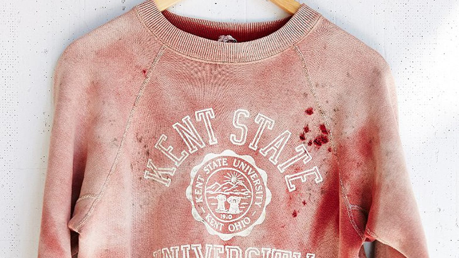Who Designed Urban Outfitters s Bloody Kent State Shirt  They Won t Say 55e58e594
