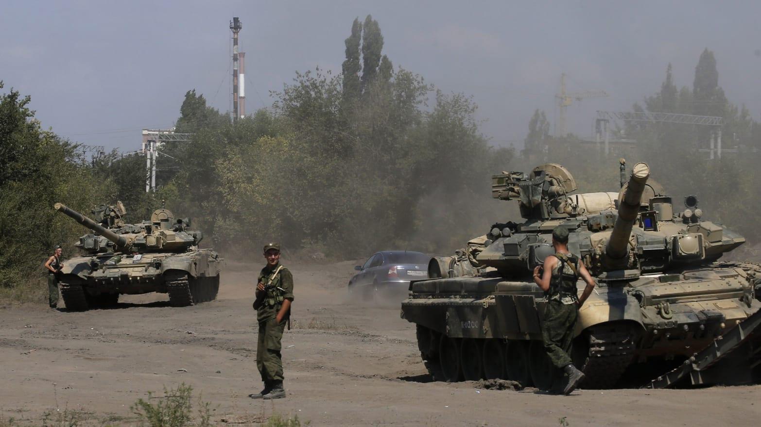 Russia Lies About Invading Ukraine as It Invades Ukraine