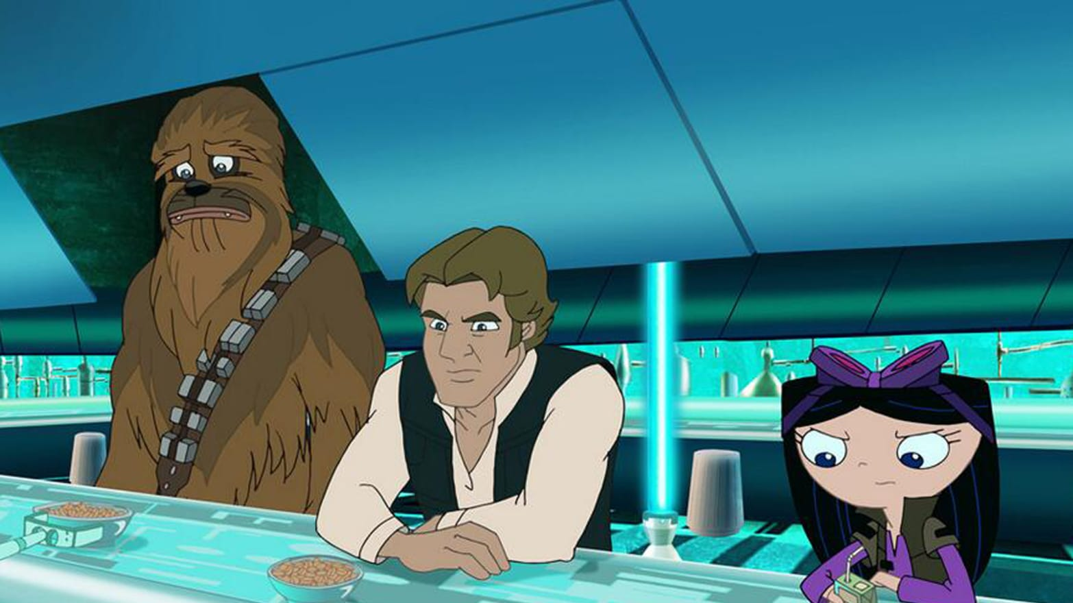 Ferb Images phineas and ferb' pilot disney's premier voyage into 'star wars'