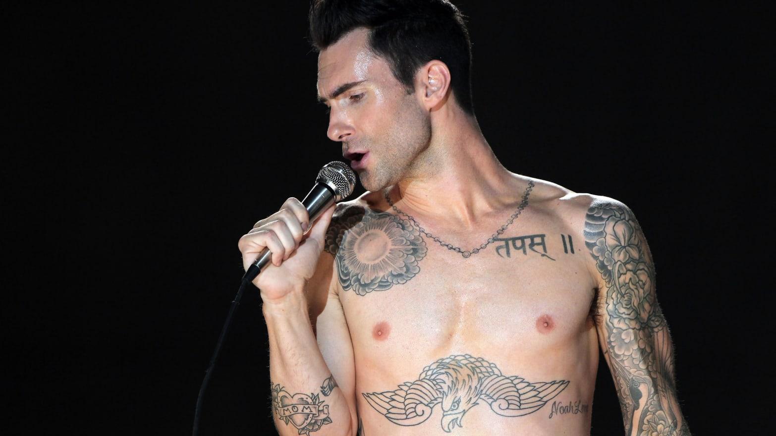 Adam levine nude Nude Photos