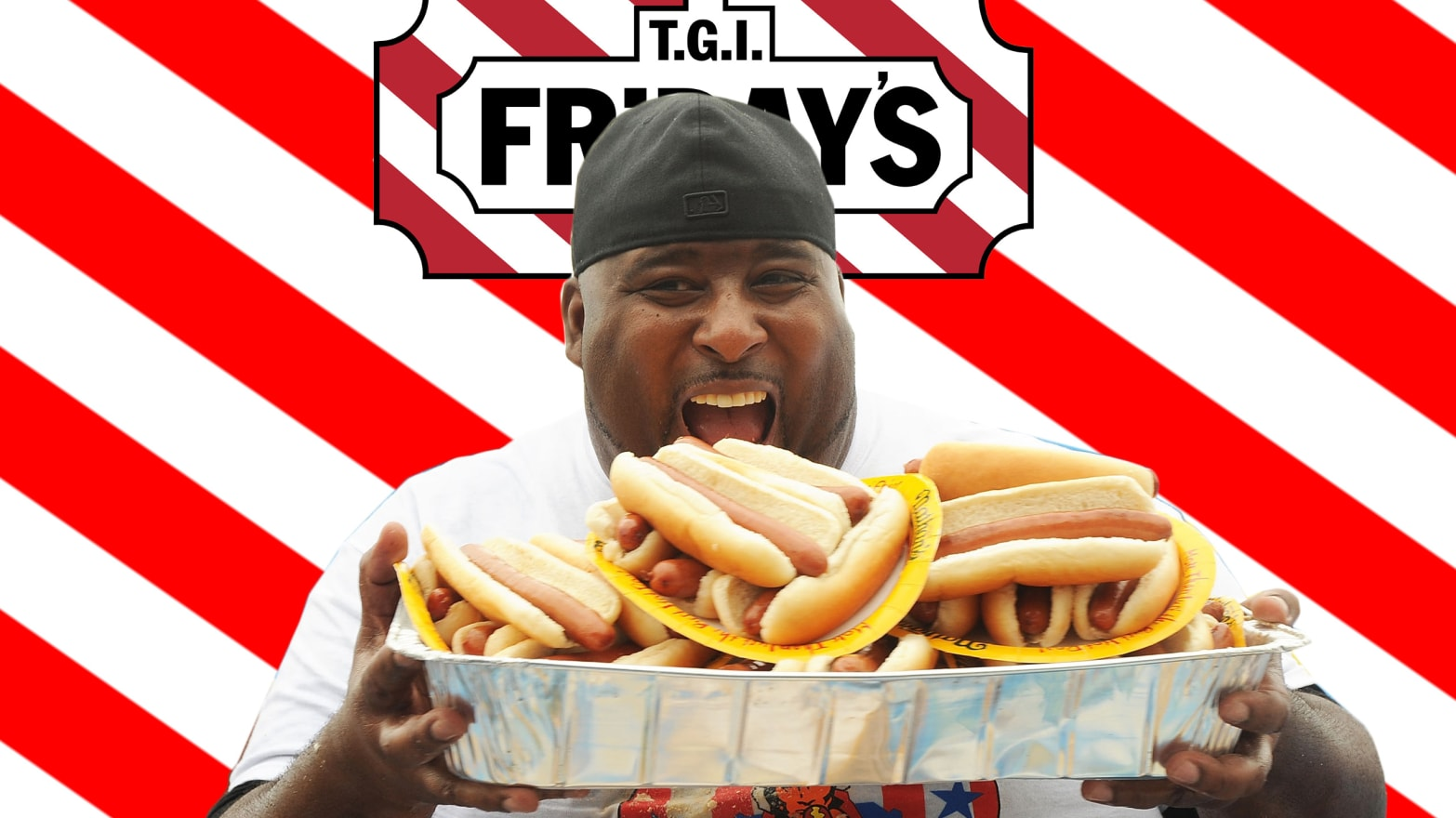 Video: We Took a Competitive Eater to TGI Fridays for Endless