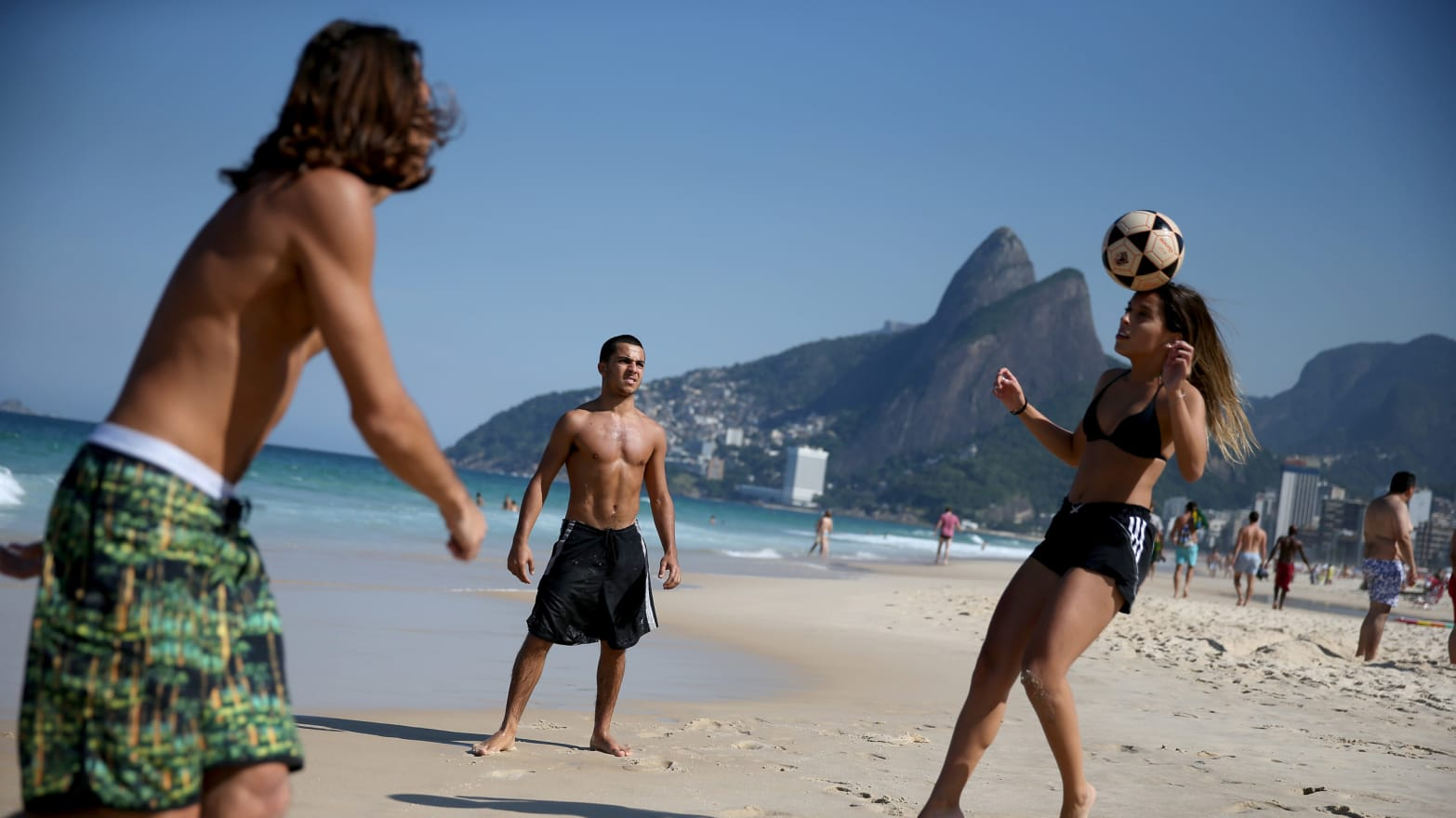 Really. girls from ipanema beach think