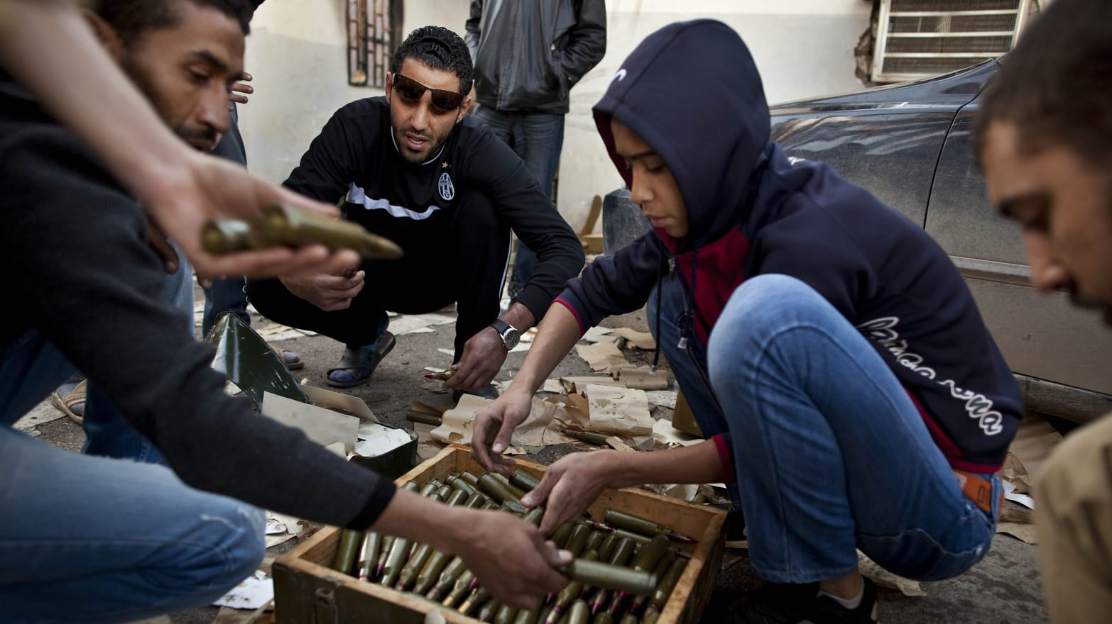 On the Contraband Trail With Libya's Gun Smugglers