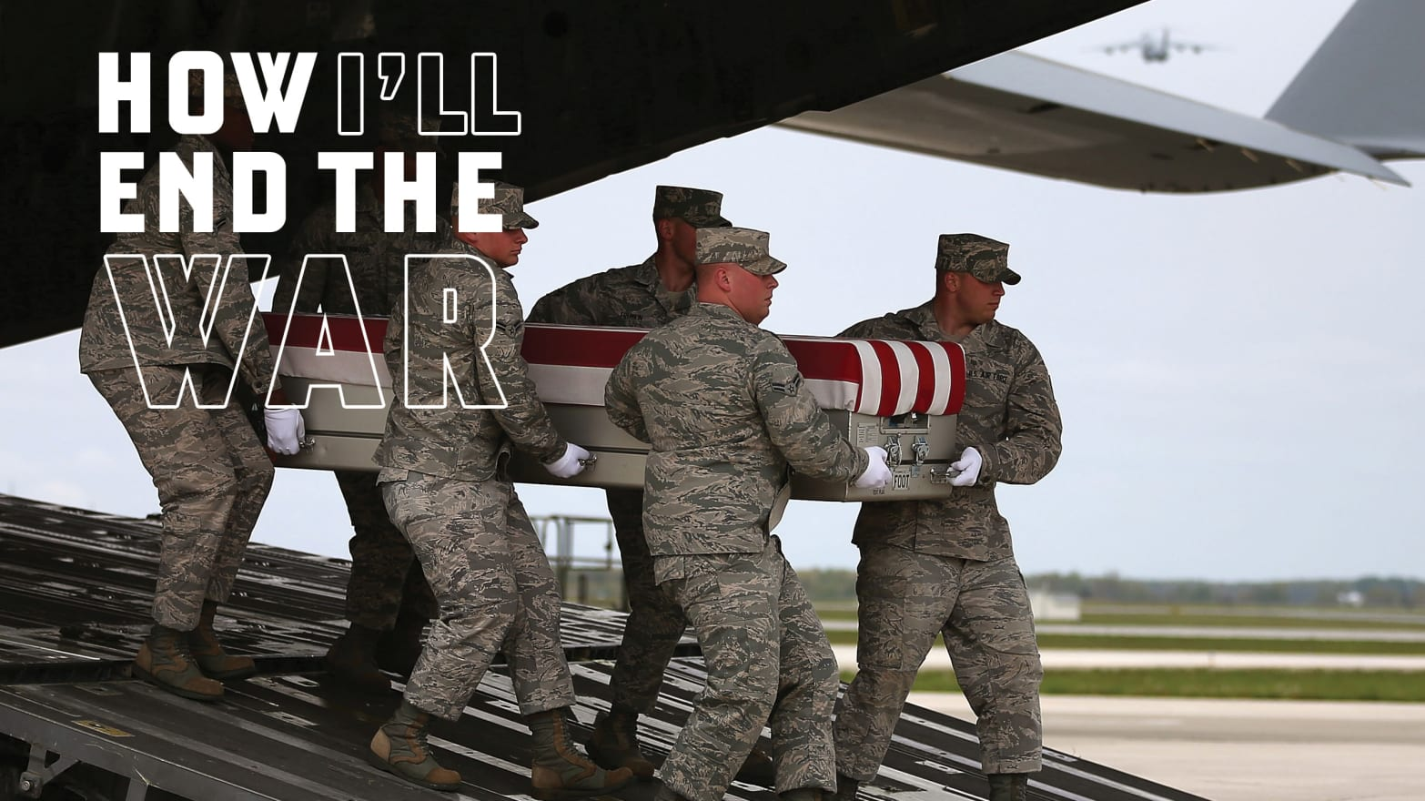 How the Dead Come Home From Afghanistan