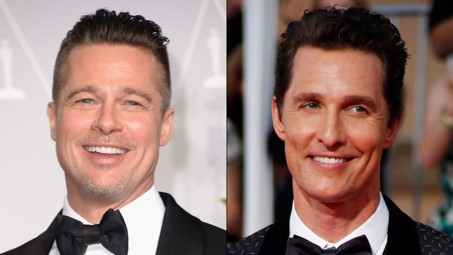 Viral Video Of The Day Brad Pitt Throws Beer To Matthew Mcconaughey