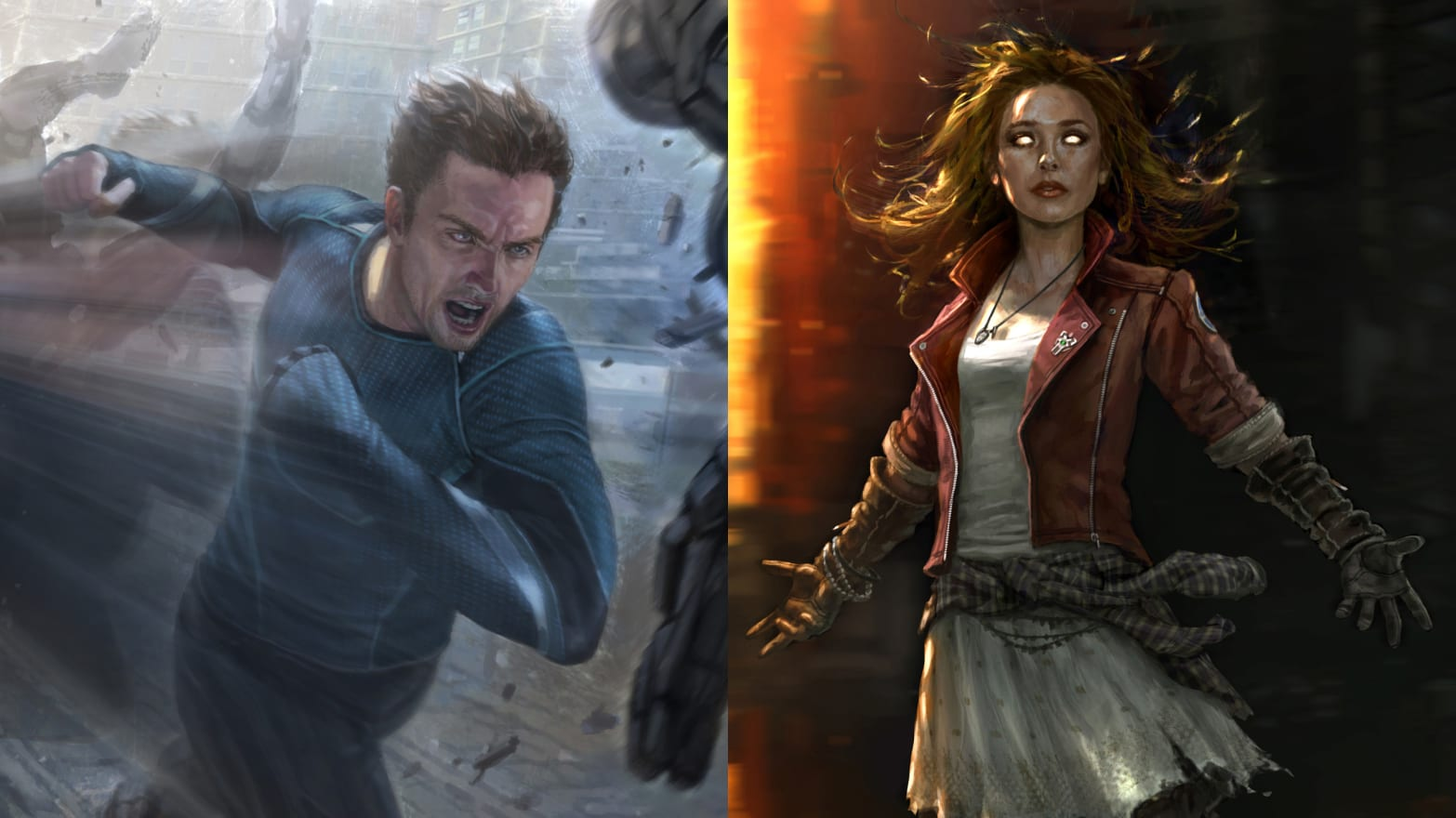 A Guide To Scarlet Witch And Quicksilver The Twins Teased At The