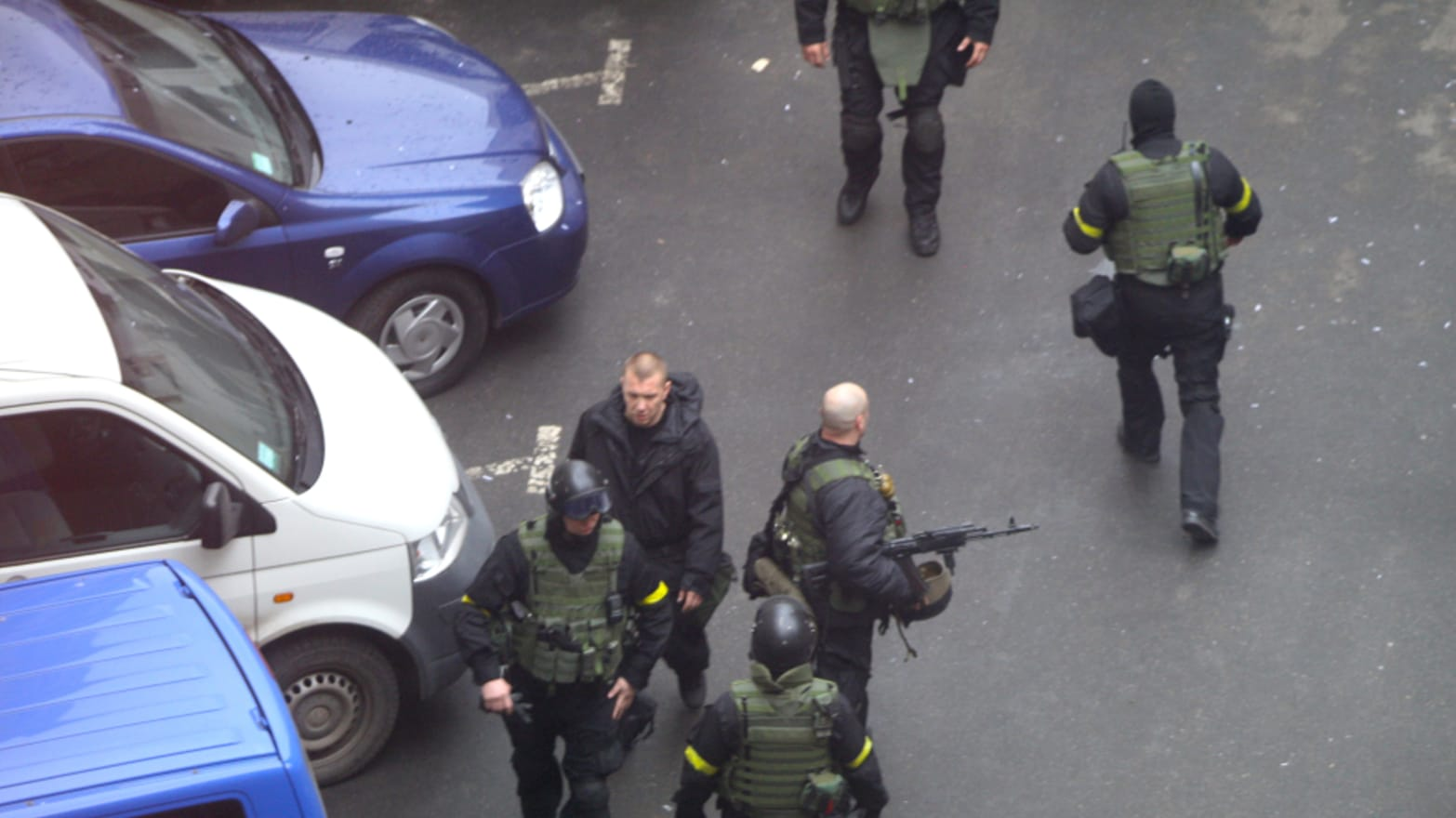 Exclusive: Photographs Expose Russian-Trained Killers in Kiev