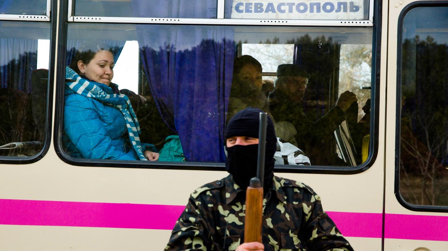 The Crimea Exodus Has Begun