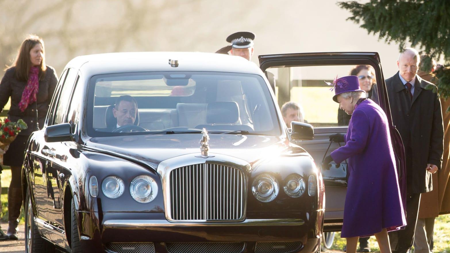 131230 children upset as queen declines bouquets