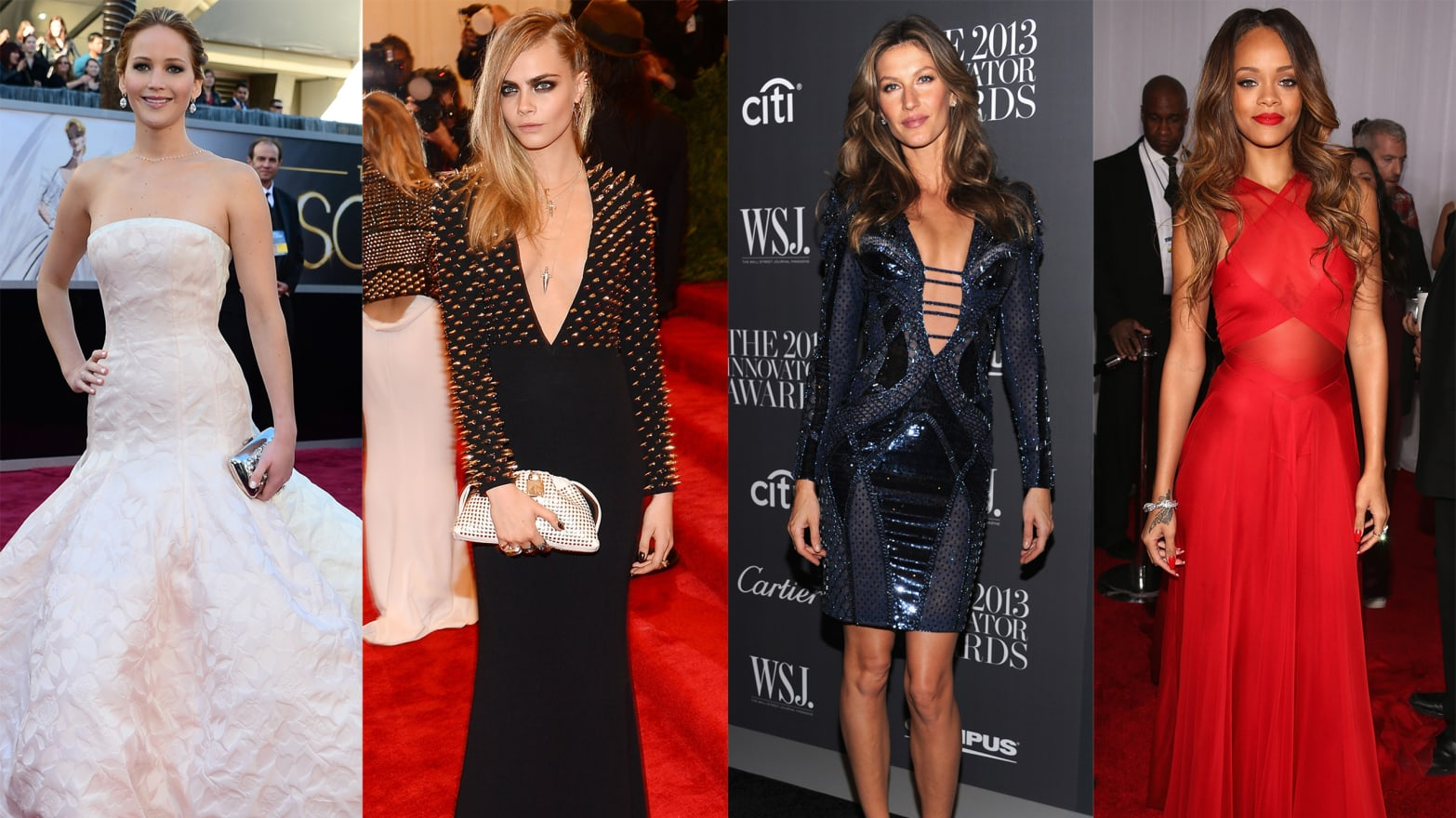 The Best and Worst Dressed Celebrities of 2013 (Photos)