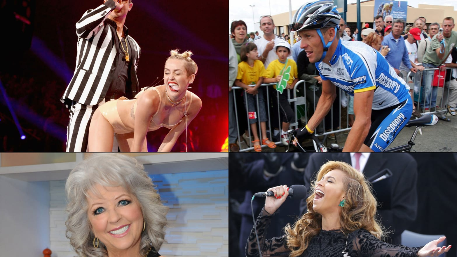 Biggest Celebrity Scandals of 2013: Miley Twerks, Beyonce Lip-Syncs and More