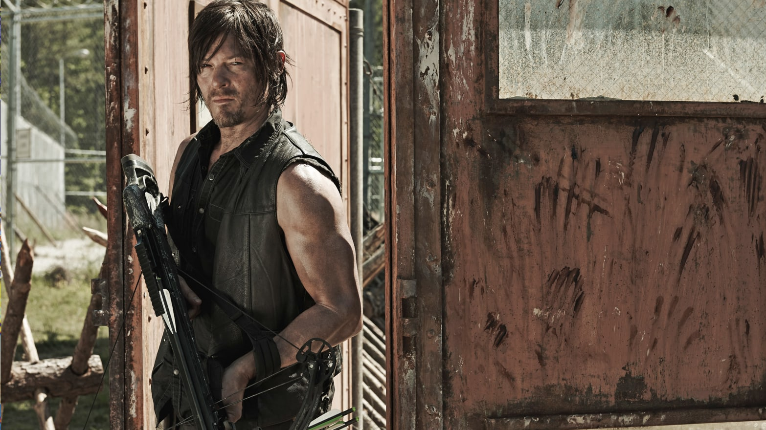 The Walking Dead's Norman Reedus Says Michonne's Cute, Wouldn't Mind