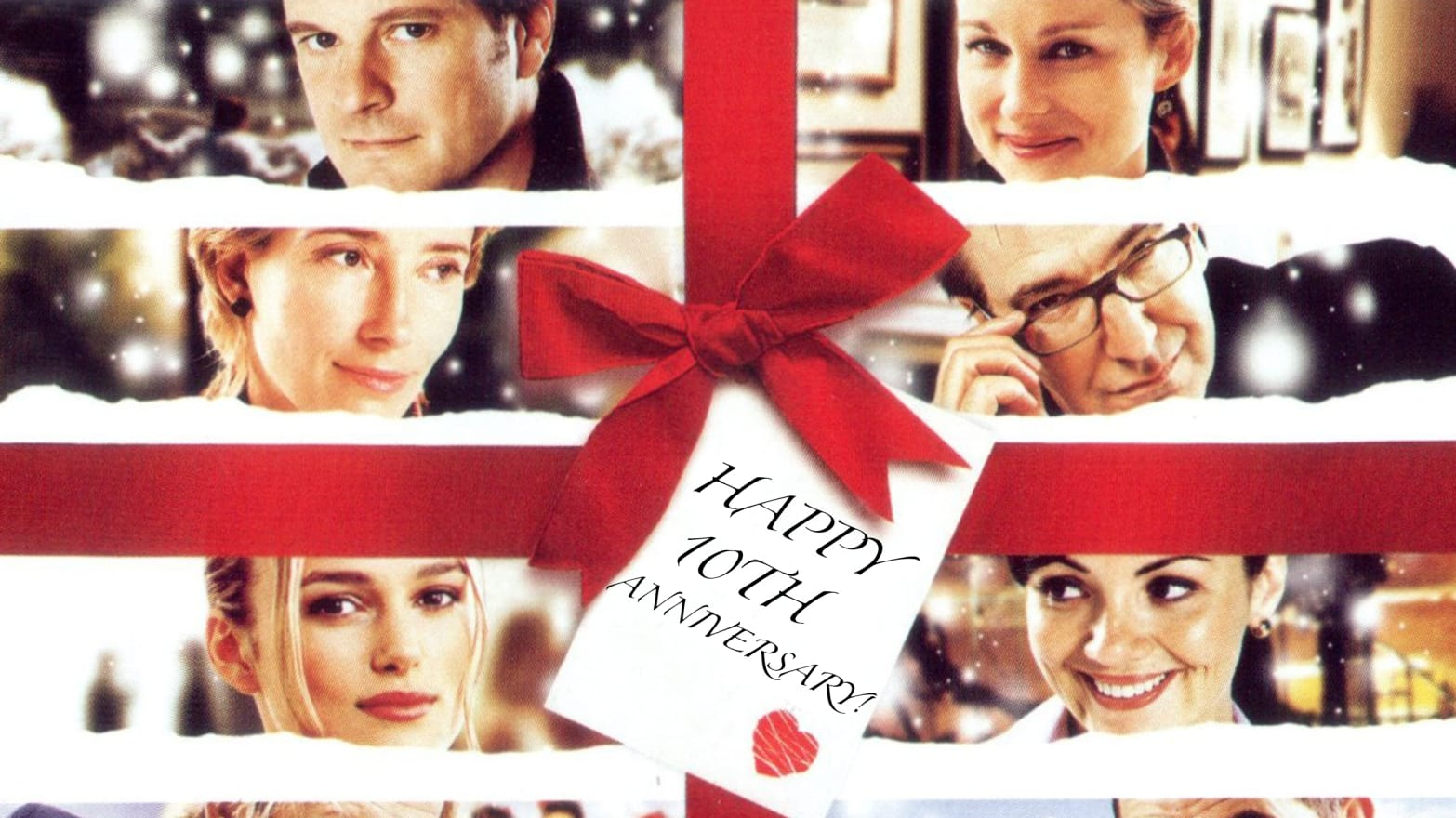 This Christmas Cast.Love Actually S 10th Anniversary The Cast And Crew