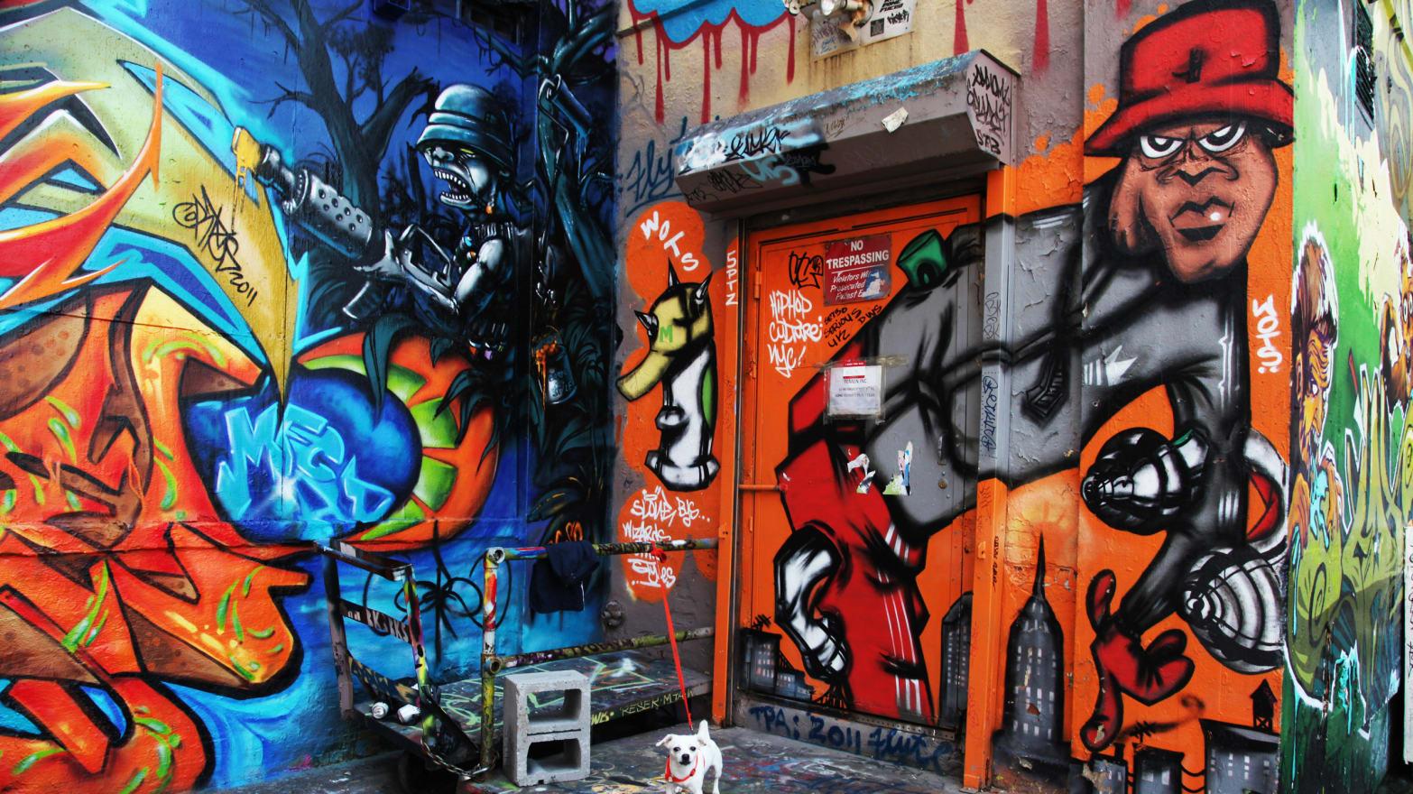 5 pointz when graffiti was king