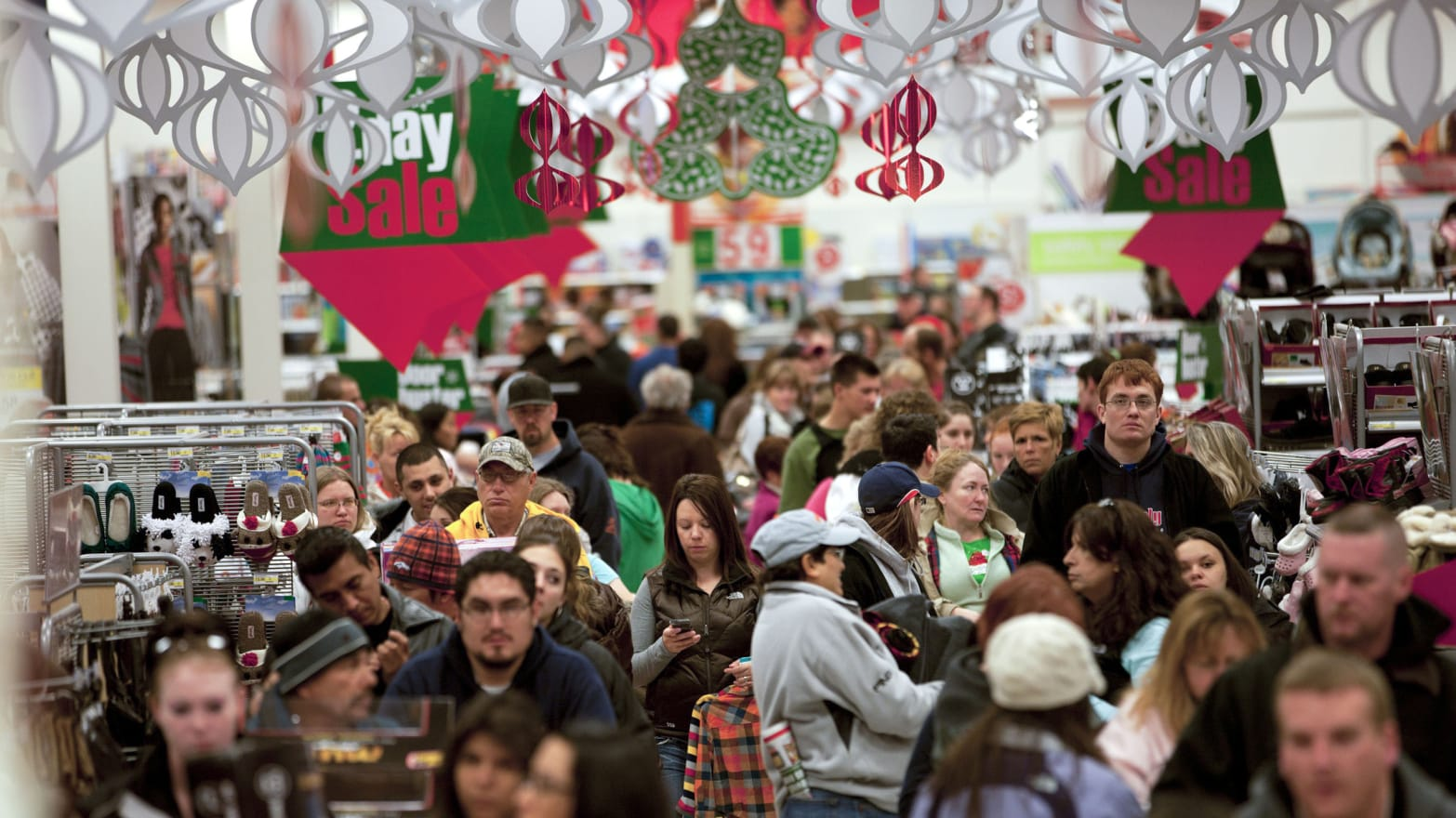 Black Friday Comes Early As U S Retailers Panic Over Holiday Sales