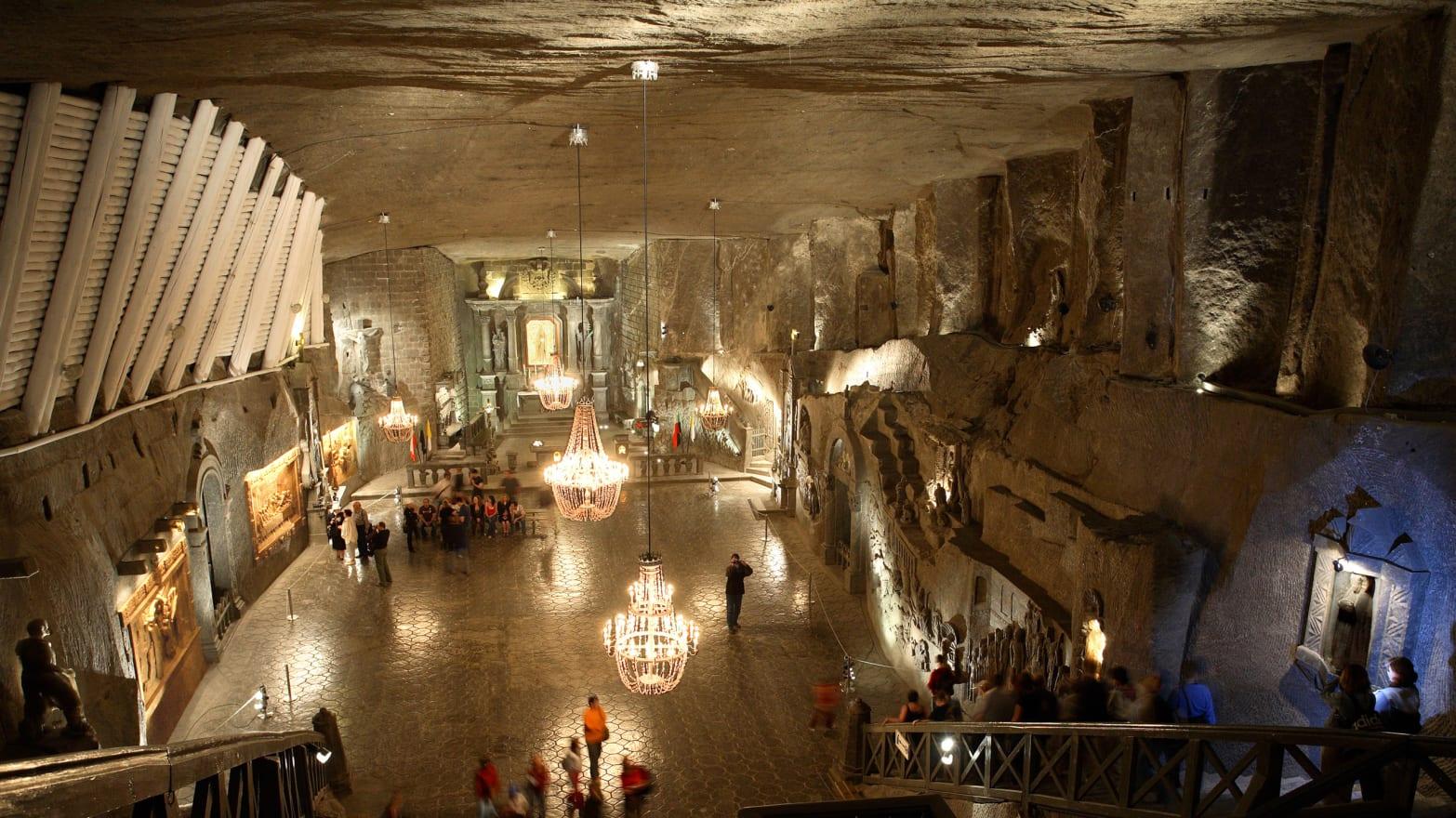 Wieliczka Salt Mine Is an Incredible Polish Underground