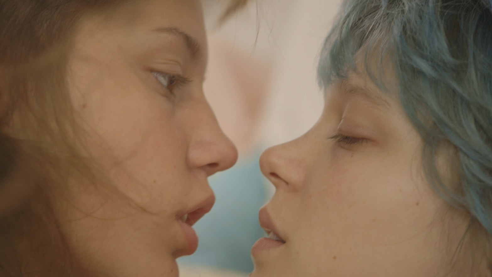 Blue is the warmest color nude