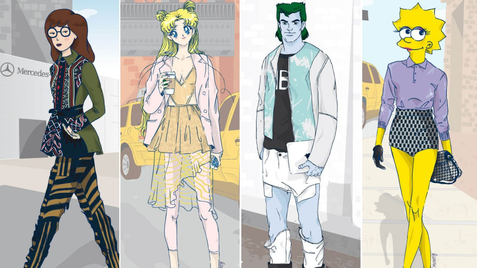 90s Cartoons Hit New York Fashion Week