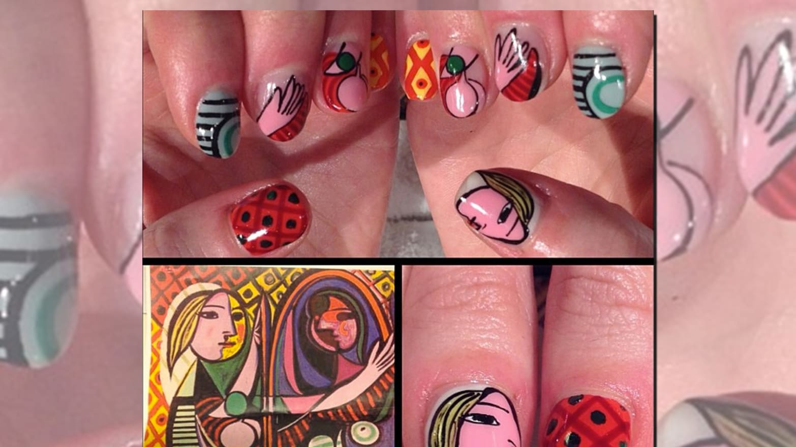 Nails Art: A Picasso Manicure?: The Rise Of Fine Art Nails