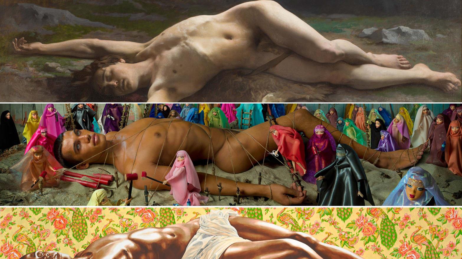 'Masculin, Masculin,' a Retrospective of Male Nudity in Art, Opens in Paris