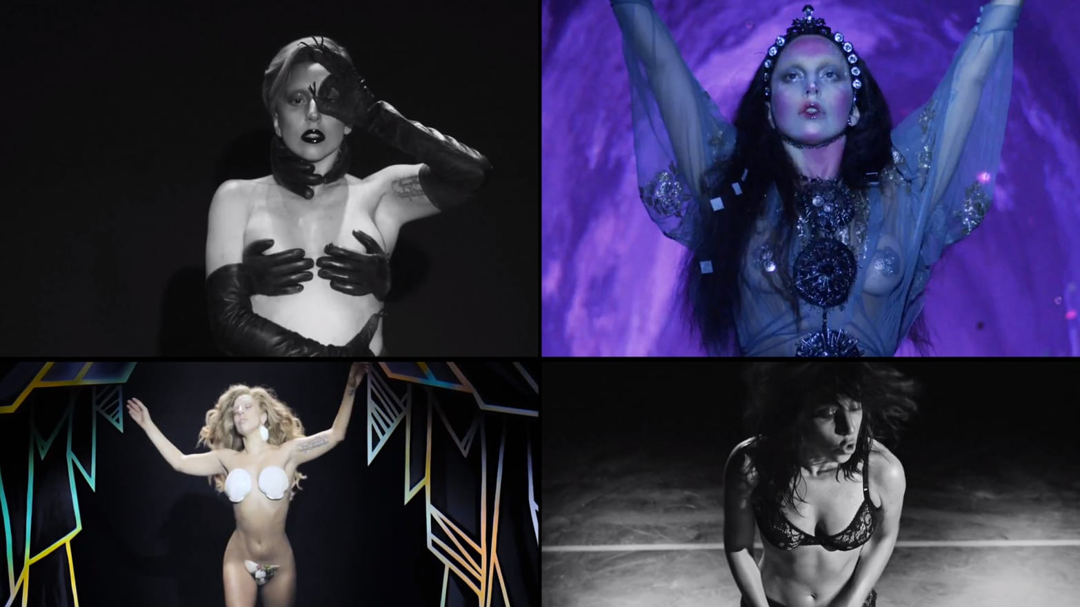 54f47a5d6 Deconstructing Lady Gaga s 5 Bras in