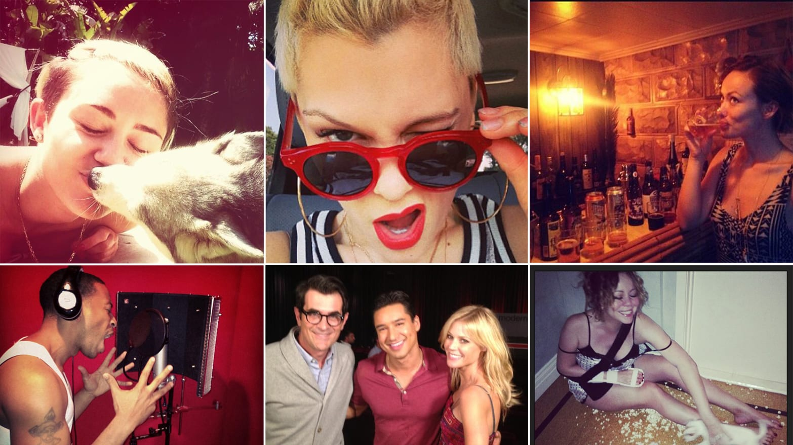 Lady Gaga, Olivia Wilde & More Celebrity Twitter Pictures (PHOTOS)