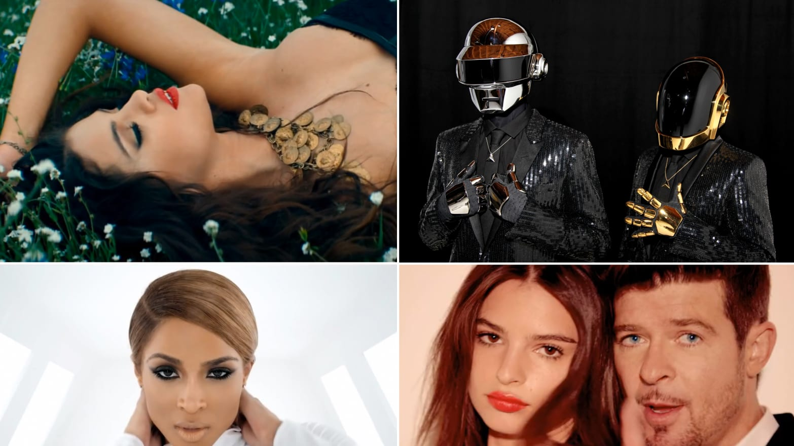 10 Song of the Summer Contenders From Daft Punk to Ciara (VIDEO)