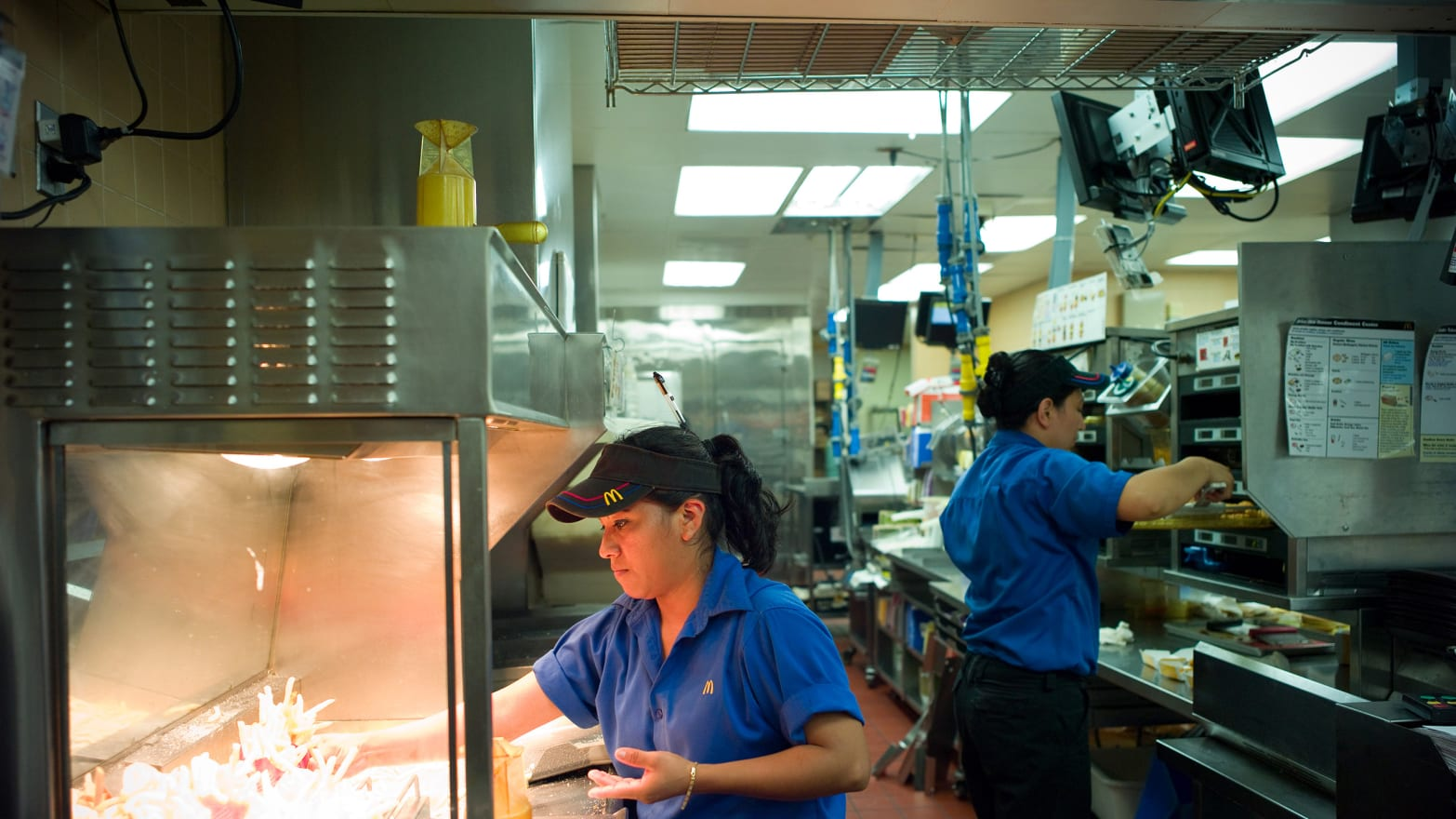 McDonald's and Visa Conjure Fantasy Budget for Low-Wage ...