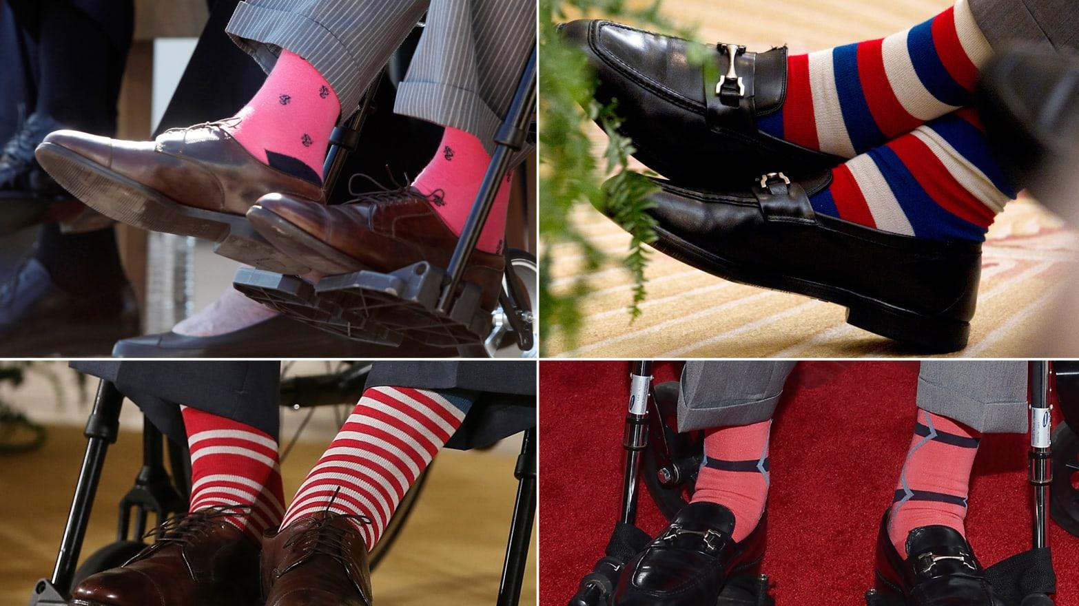 George H W Bush S Most Striking Socks