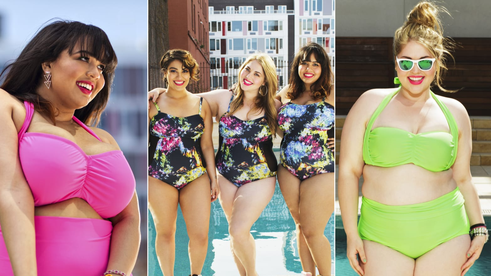 26110b3119 Fatkinis: GabiFresh's Plus-Size Bikini Line