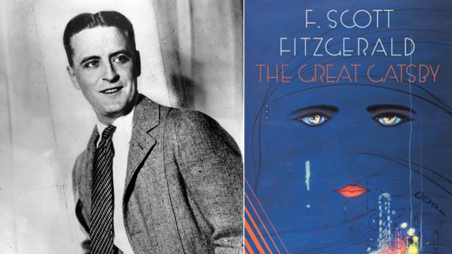 A comparison of the two scenes in the great gatsby a novel by f scott fitzgerald